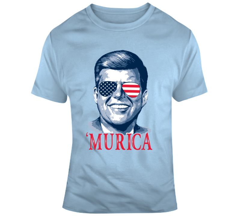 Happy 4th of July Murica John F Kennedy Celebration v2 T Shirt