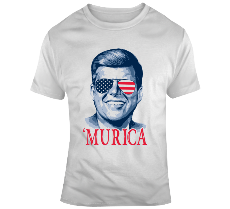 Happy 4th Of July Murica John F Kennedy Celebration  T Shirt
