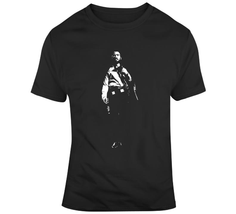 Solo A Star Wars Story Lando Silhouette Fan  T Shirt