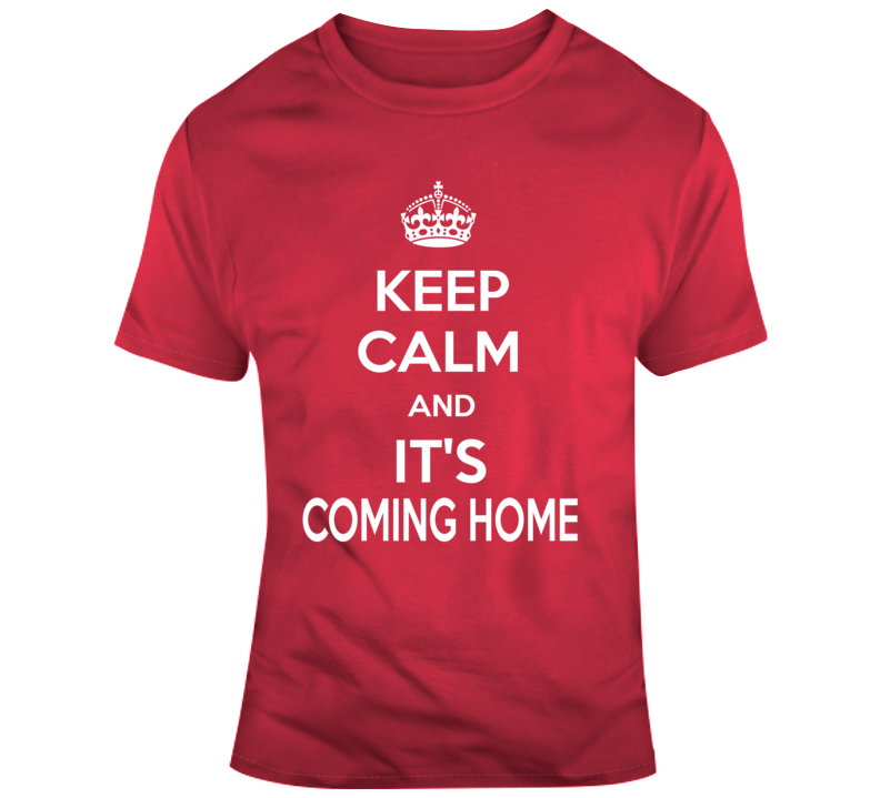 England Soccer It's Coming Home World Cup 2018 Soccer Fan V2 T Shirt