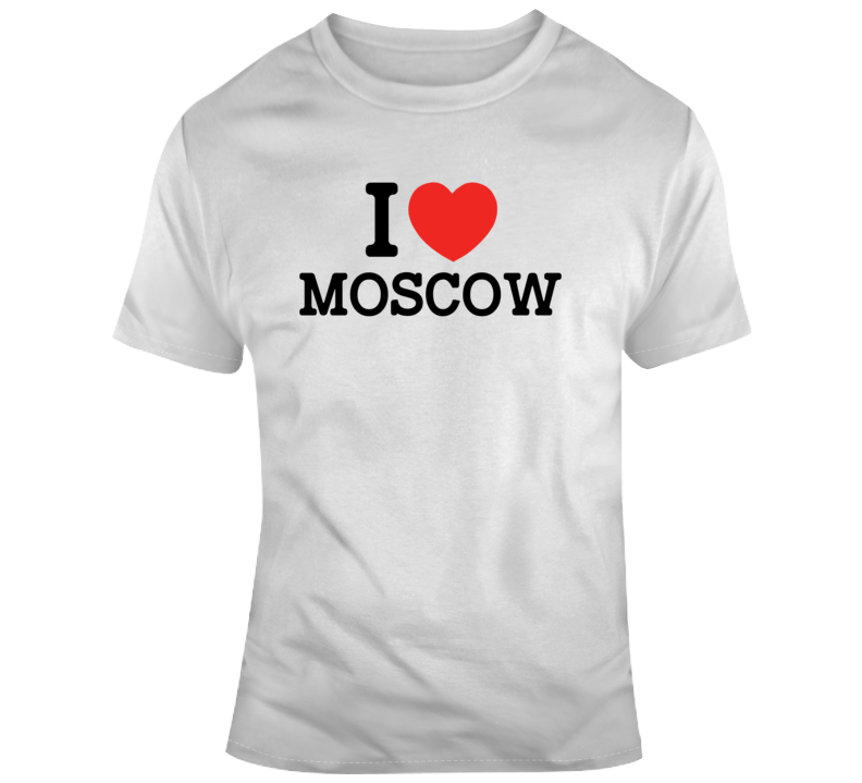 The Real O'neals I Heart Moscow Tv Show Fan  T Shirt