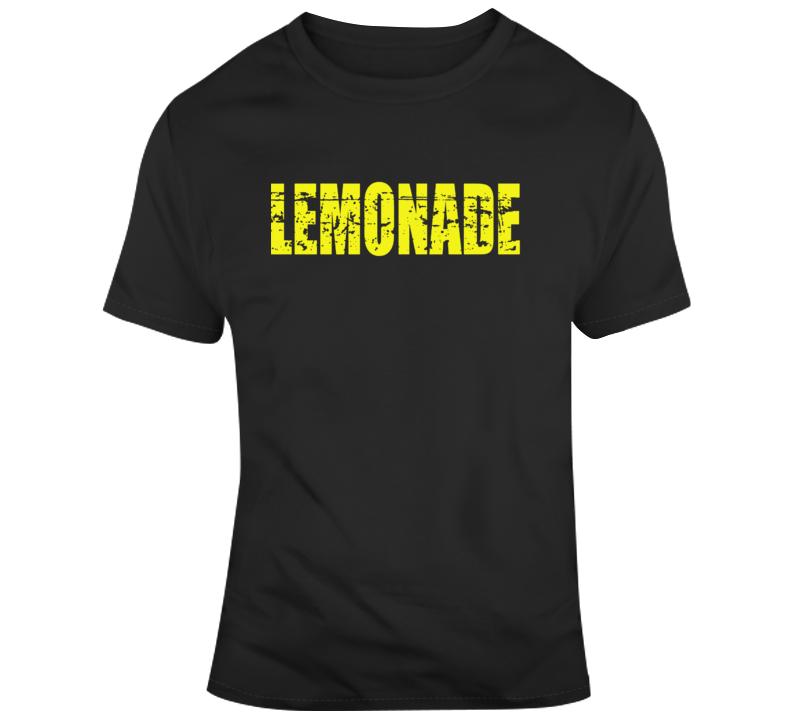 Lemonade Text Distressed  T Shirt