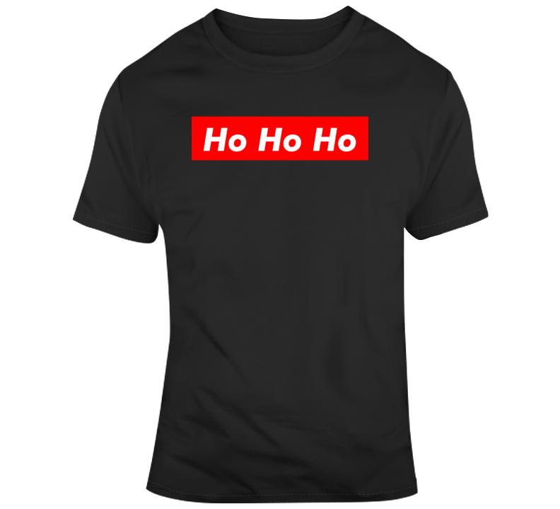 Funny Christmas Shirt Ho Ho Ho