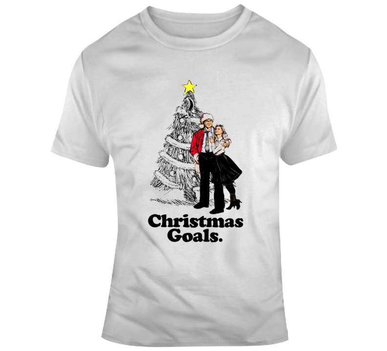 Clark Griswold Family Christmas Goals Christmas Vacation Movie T Shirt
