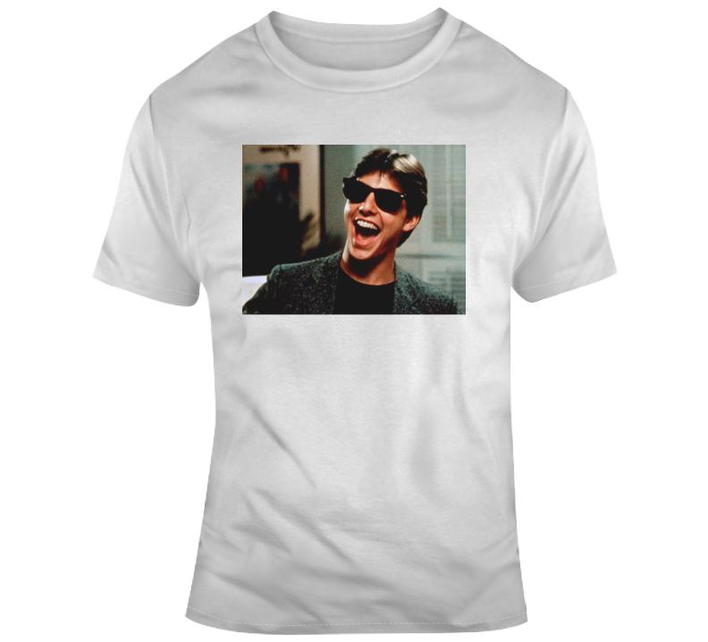 Classic 80's Movie Risky Business Glasses Movie Fan T Shirt