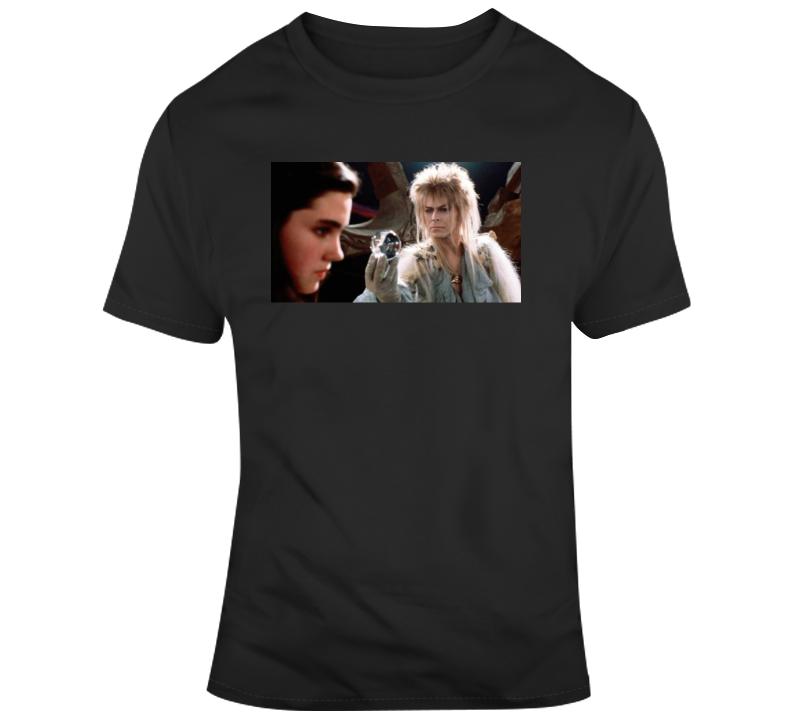 Classic 80's Fantasy Movie Fan Labyrinth T Shirt