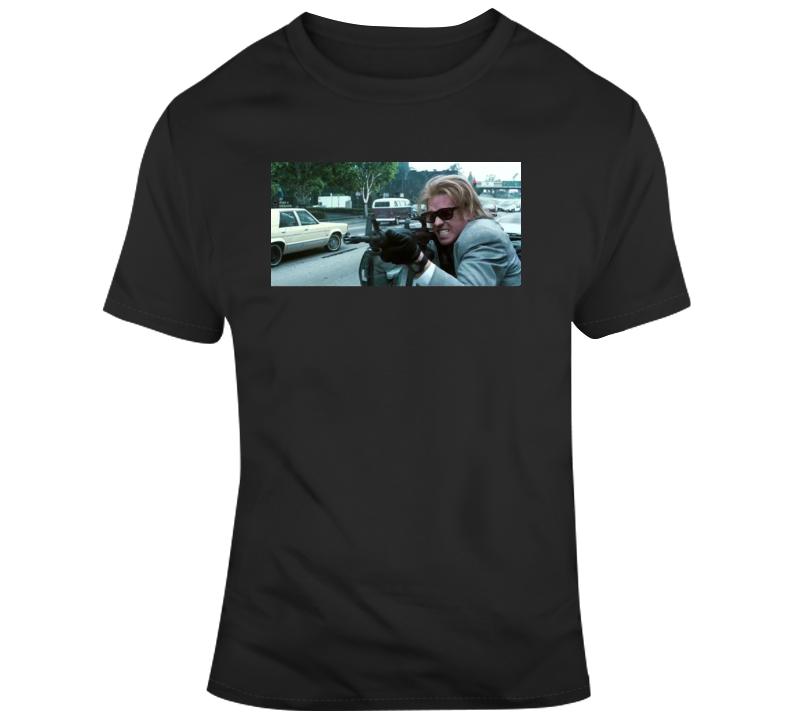 Cult Classic 90's Movie Heat Chris Shiherlis Val Kilmer  T Shirt