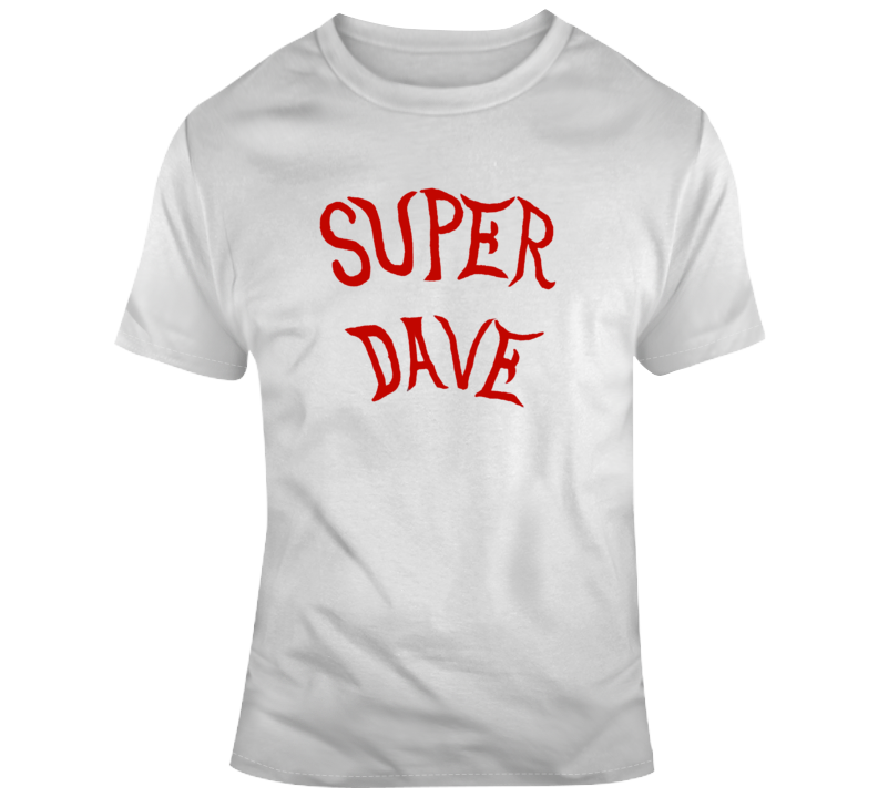 Super Dave Osborne Retro Tv Show Cool Fan T Shirt