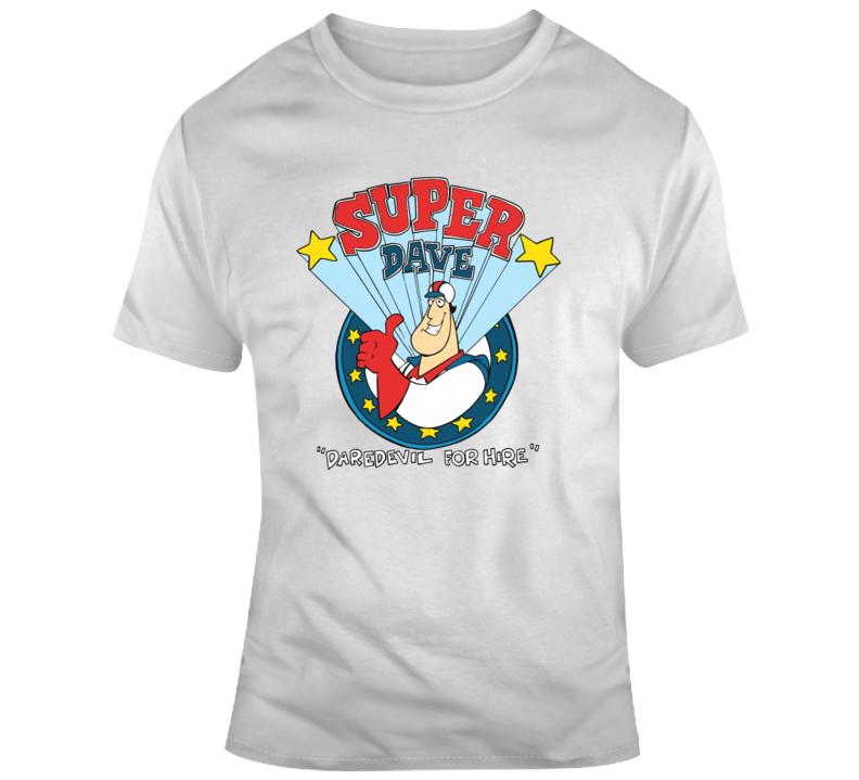 Super Dave Osborne Retro Cartoon Tv Show Cool Fan T Shirt
