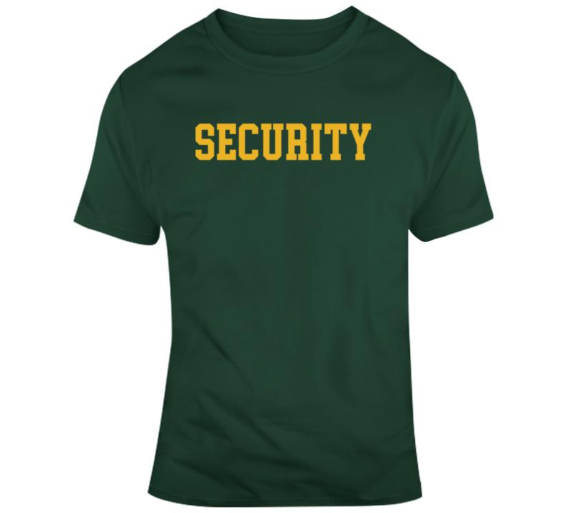 David Dunn Unbreakable Glass Split Security T Shirt