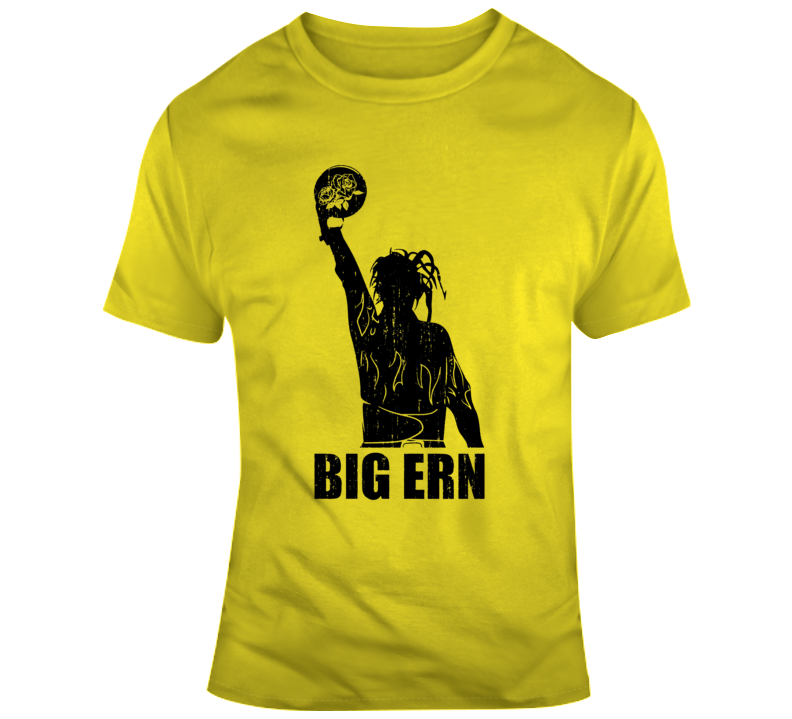 Big Ern Ernie McCracken King Pin Movie Fan Silhouette  T Shirt