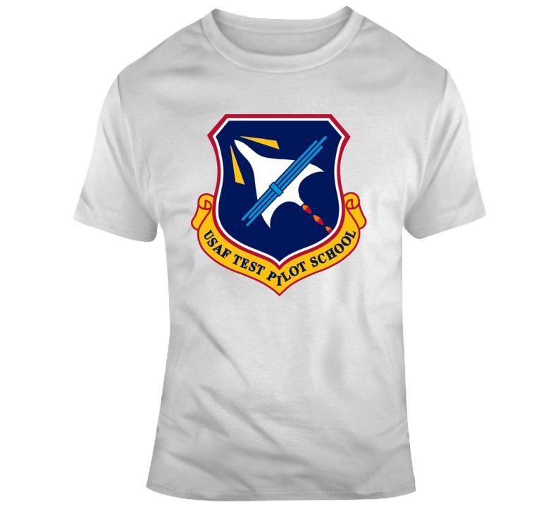 Captain Marvel Movie USAF Test Pilot Patch  T Shirt