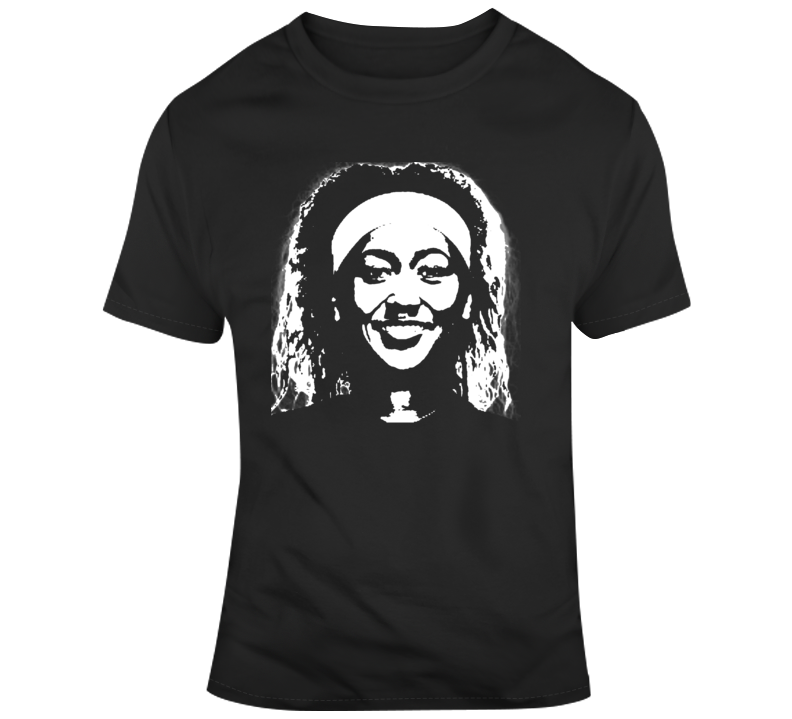 Naomi Osaka Big Head Silhouette Tennis Champion Tennis Fan T Shirt