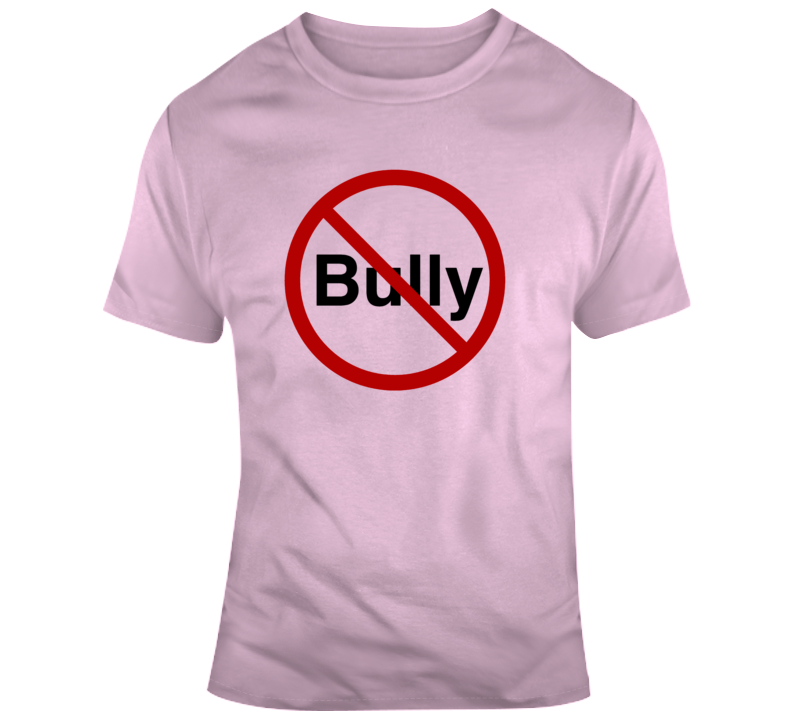 Stop Bullying Anti Bullying Pink v2 T Shirt