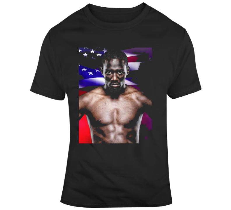 terence crawford vs amir khan fight poster Boxing Fan v3 T Shirt