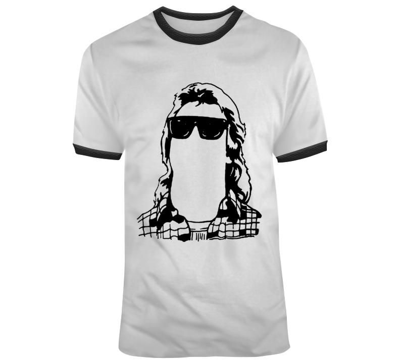 Retro 80's Movie They Live  Silhouette  Movie Fan T Shirt
