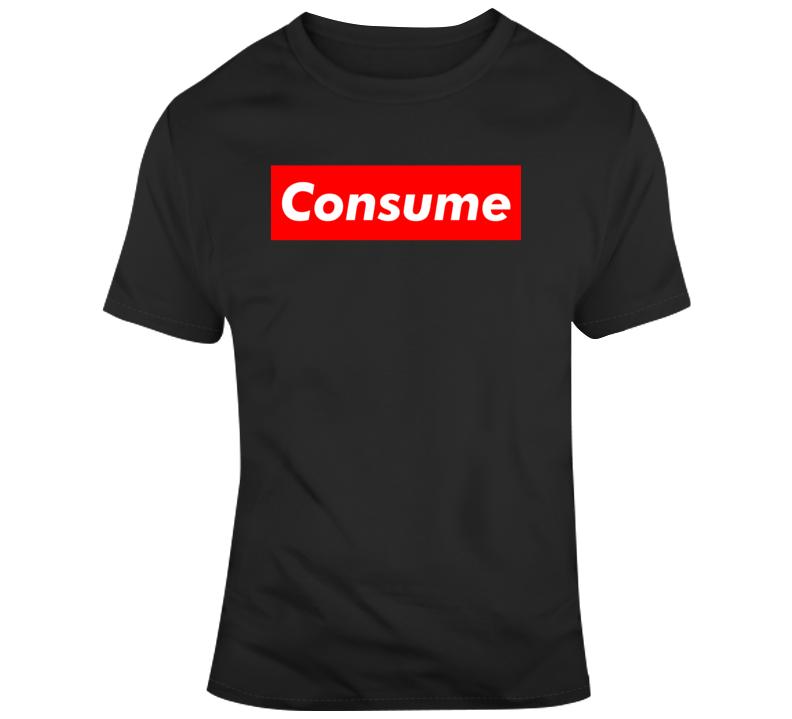 Retro 80's Movie They Live Consume Movie Fan v3 T Shirt