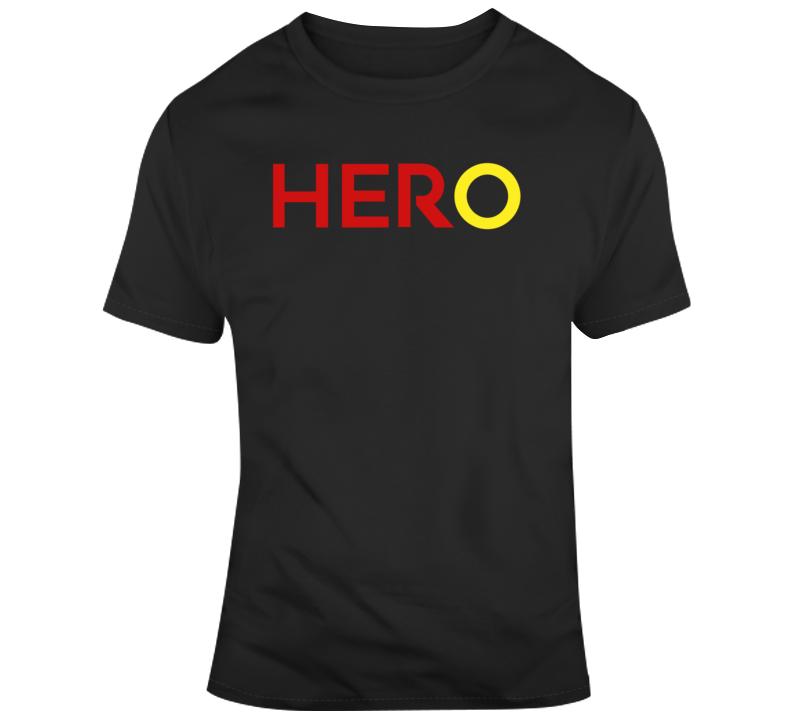 Captain Marvel Movie Fan Hero Her v2 T Shirt