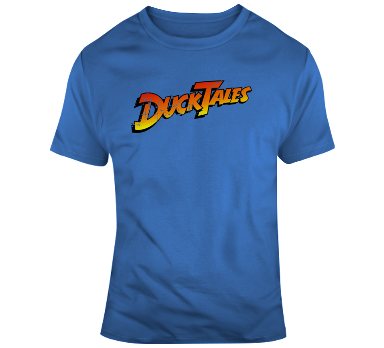 DuckTales Cartoon Fan Distressed T Shirt