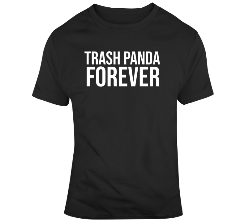 Rocket Raccoon Guardians of The Galaxy Trash Panda Forever Fan  T Shirt