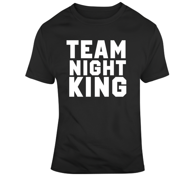Game of Thrones Team Night King Tv Show Fan  T Shirt