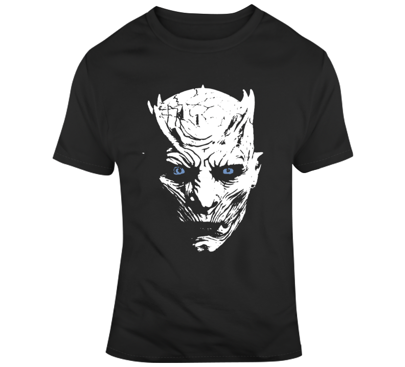 Game of Thrones Team Night King Silhouette Tv Show Fan T Shirt
