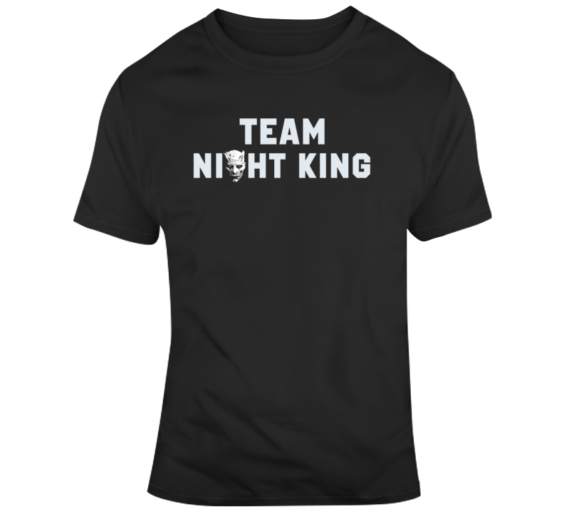 Game of Thrones Team Night King Silhouette Tv Show Fan v5 T Shirt