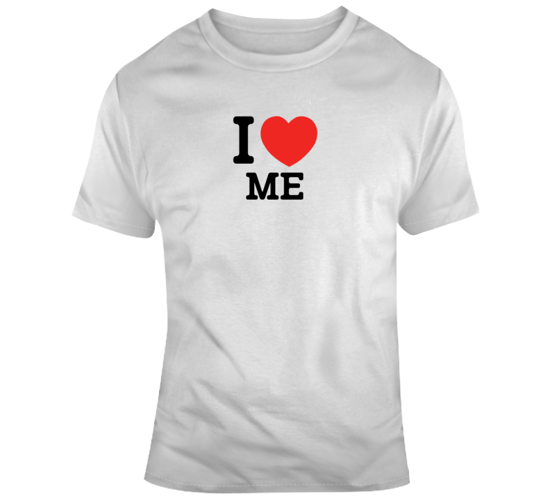 I Heart Me Funny T Shirt