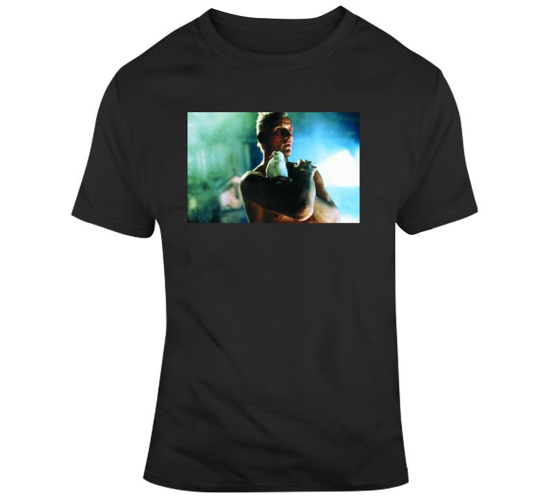Blade Runner Roy Batty Classic Sci Movie Fan  T Shirt