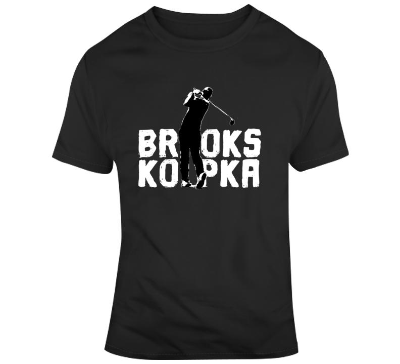 Brooks Koepka Golf Fan  T Shirt