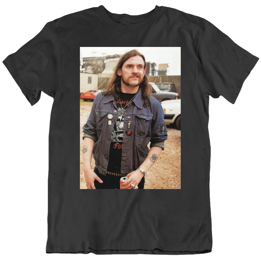 Lemmy Vintage Photo Music Lover Fan T Shirt
