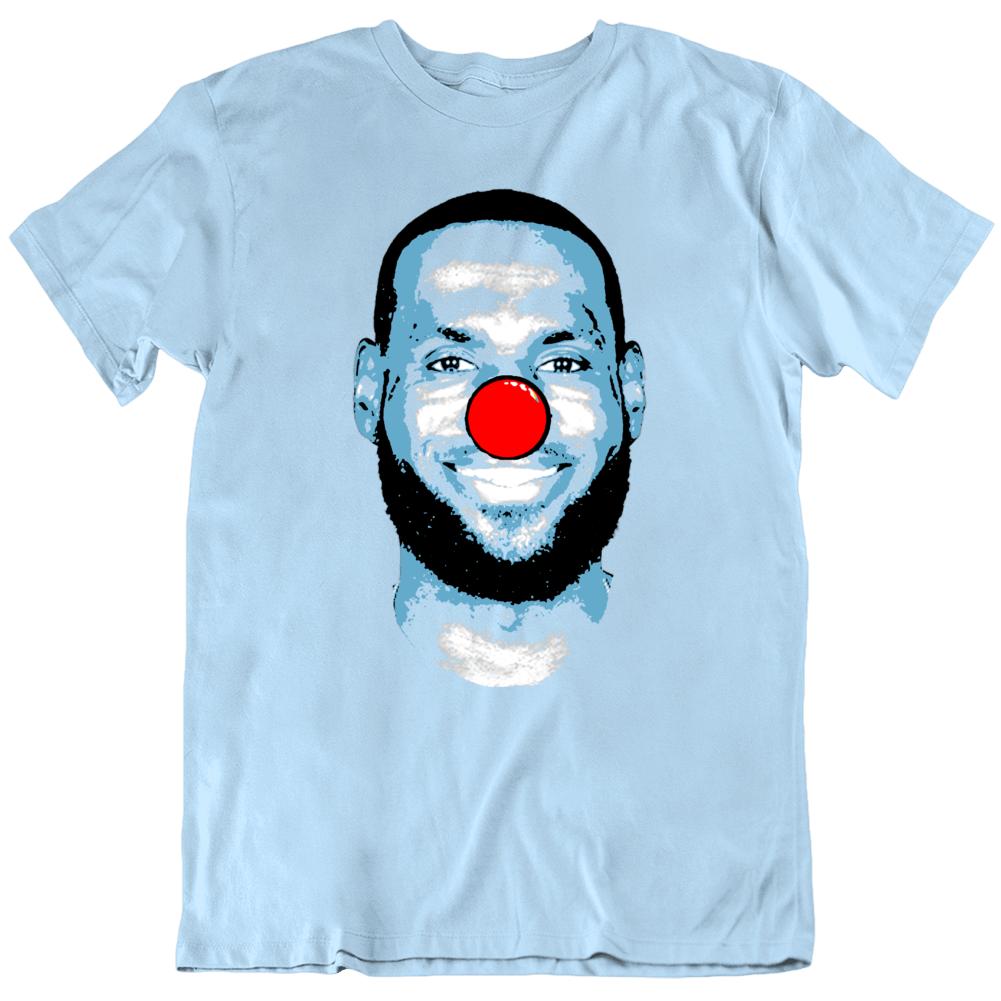 Lebron James Clown Comments Basketball Fan  T Shirt
