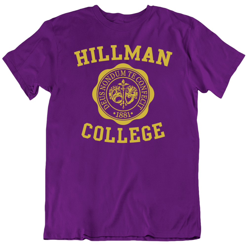 Hillman College A Different World TV Show Fan  T Shirt