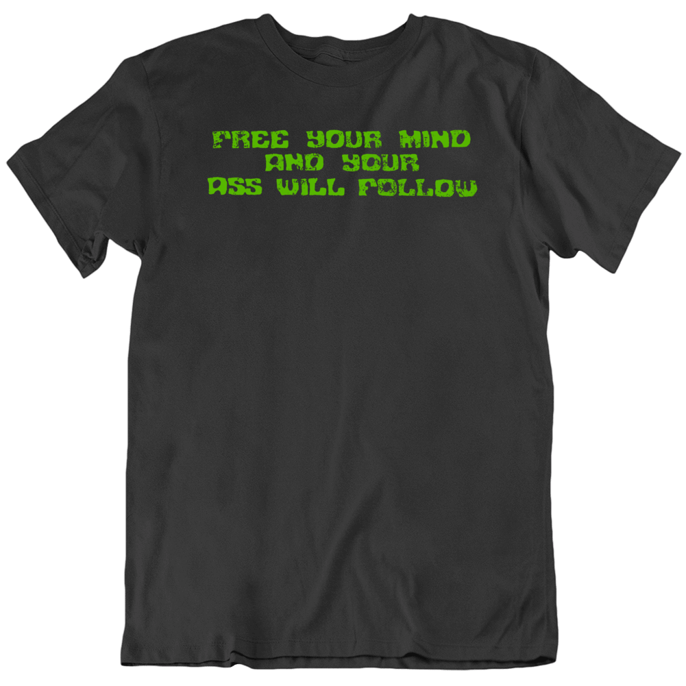 Funkadelic Free Your Mind Music  Fan v3 Distressed T Shirt
