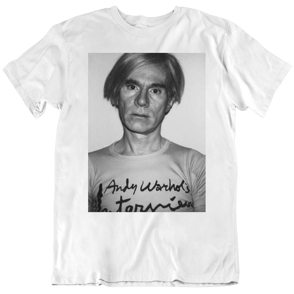 Warhol Magazine Andy Warhol's Interview Fan v2 T Shirt