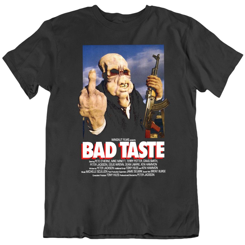 Retro 80's  Movie Bad Taste Movie Poster Peter Jackson Cool Fan v2 T Shirt