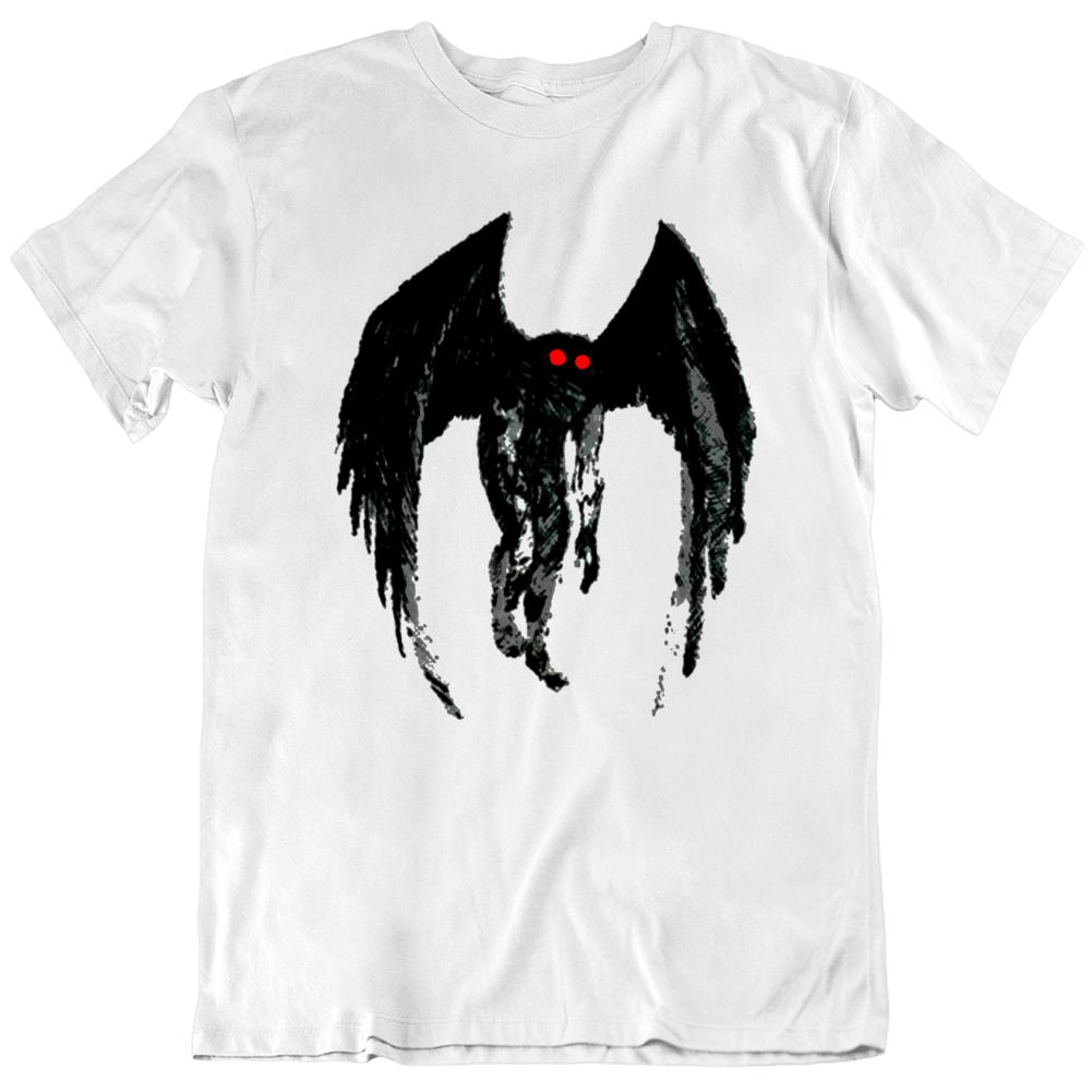 Mothman Creature The Mothman Prophecies Fan T Shirt