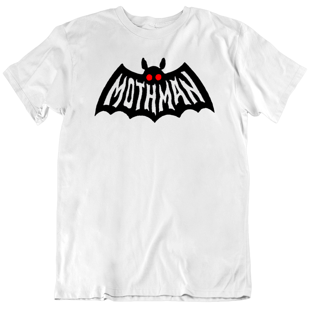 Mothman Creature The Mothman Prophecies Fan Batman Parody T Shirt