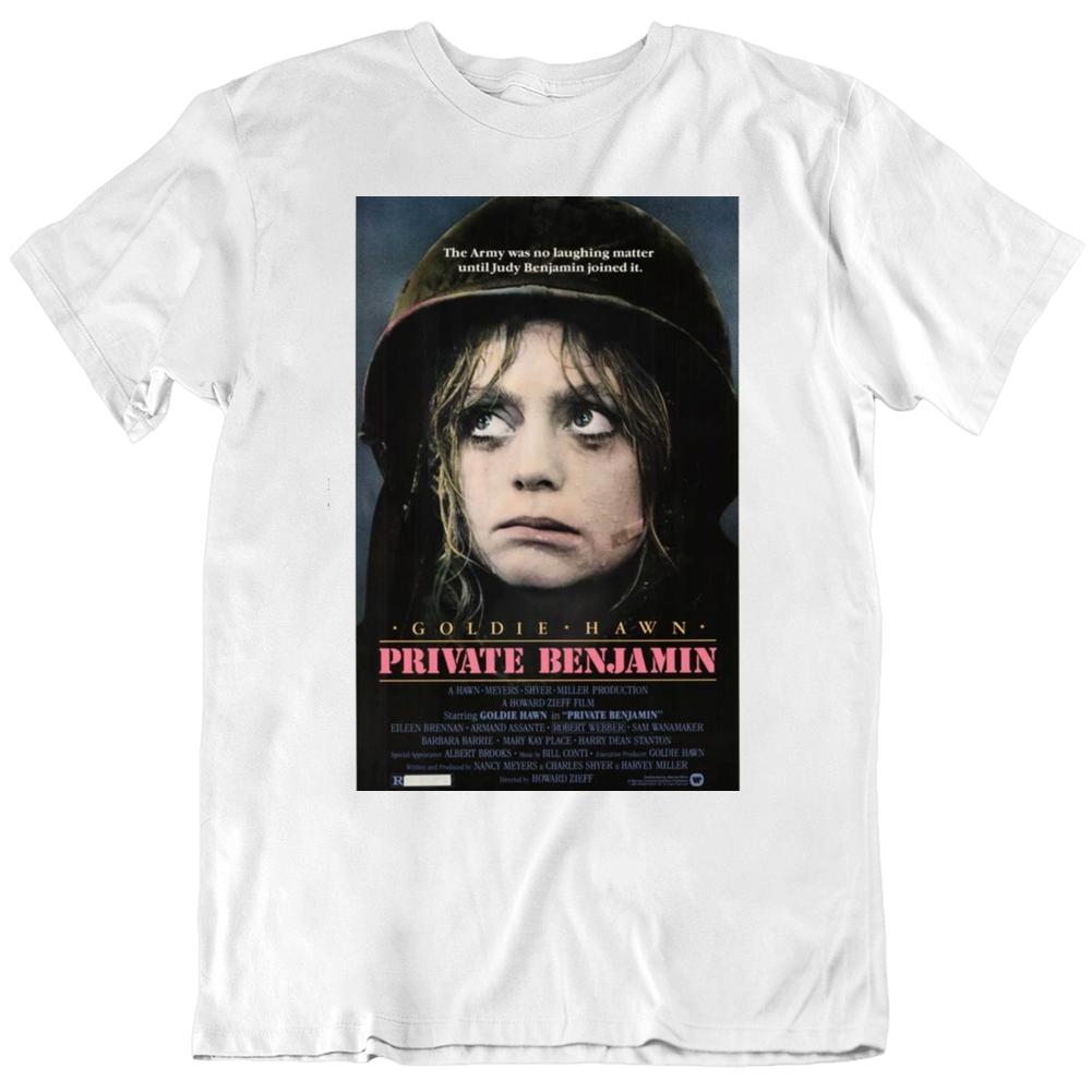 Private Benjamin 1980  Movie Poster Fan T Shirt