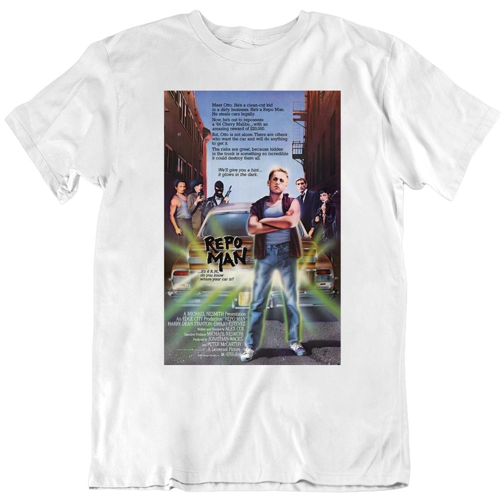 Repo Man 1984 Movie Poster Fan  T Shirt