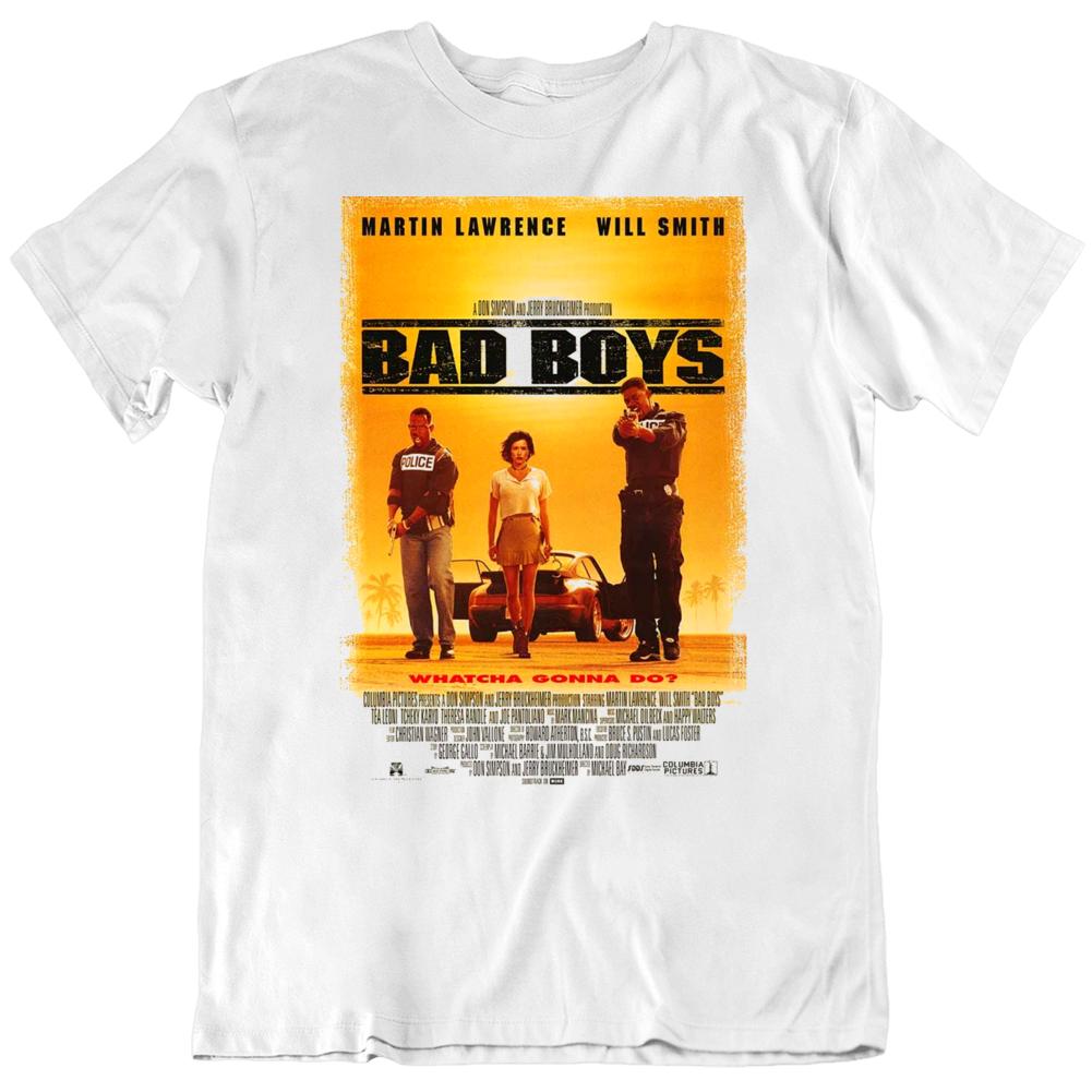 Bad Boys 1995 Movie Poster Fan T Shirt