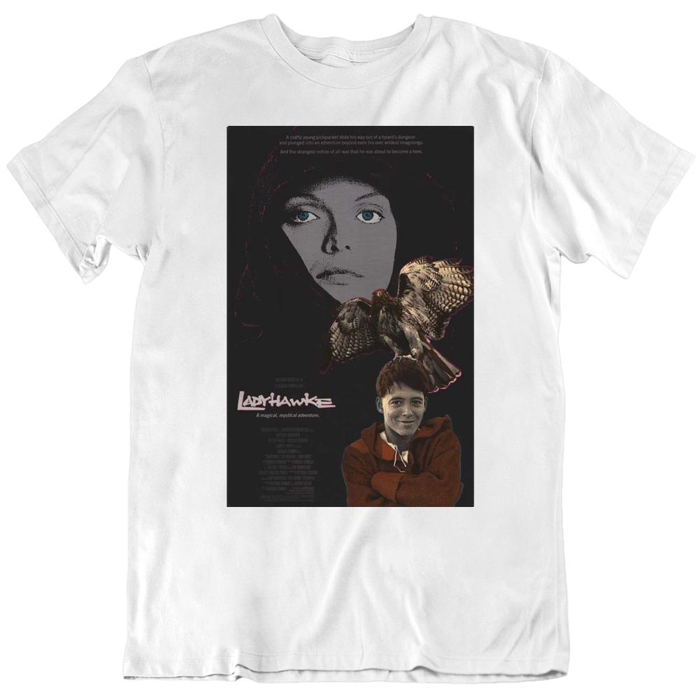 Ladyhawke 1985 Movie Poster Fan   T Shirt
