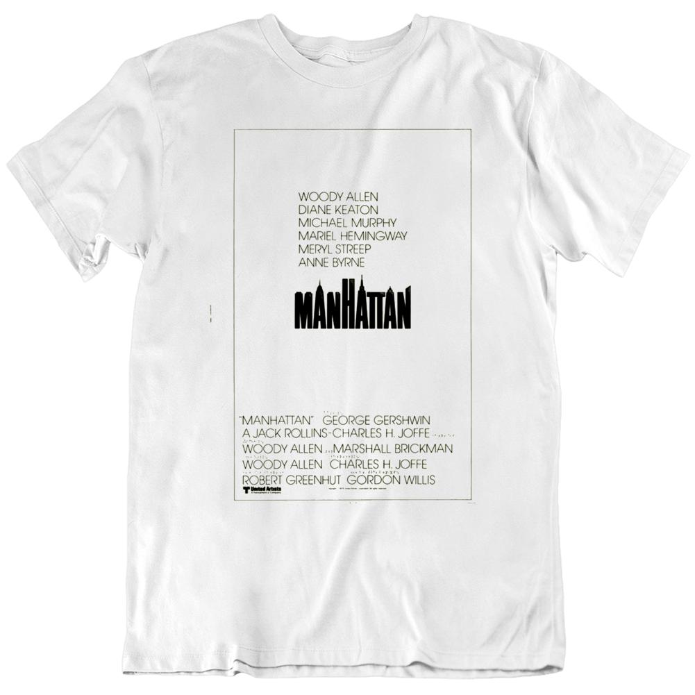 Manhattan 1979 Movie Poster Fan T Shirt