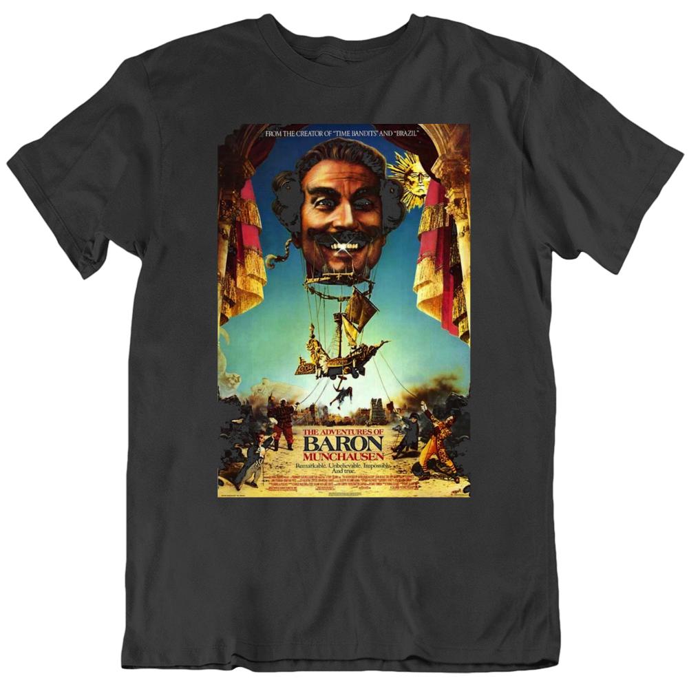 Adventures Of Baron Munchausen 1989 Movie Fan Poster T Shirt
