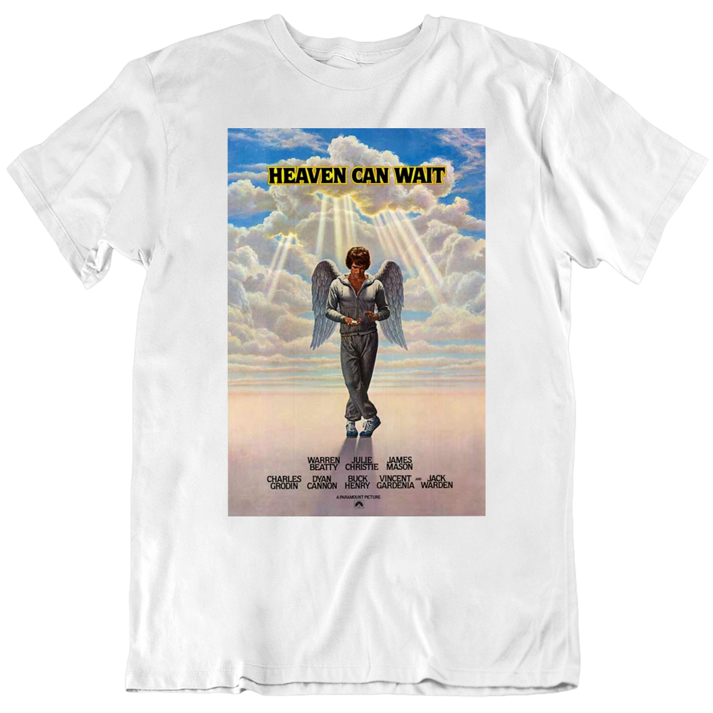 Heaven Can Wait 1978 Movie Fan Poster T Shirt