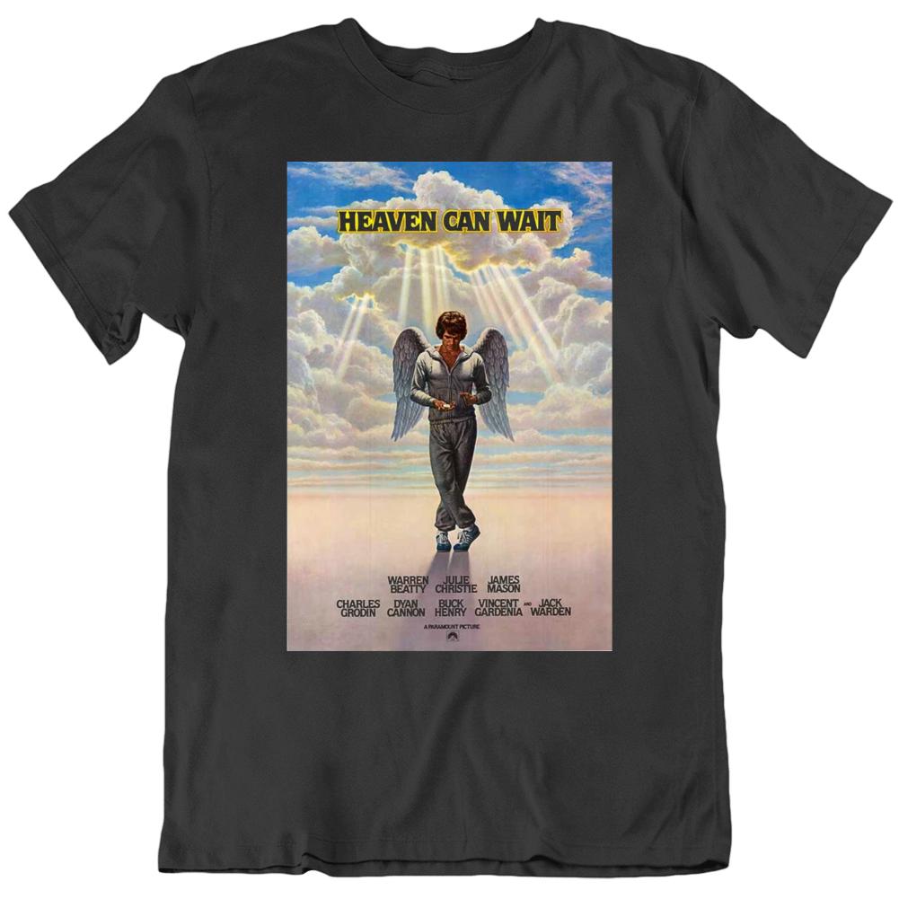 Heaven Can Wait 1978 Movie Fan Poster black T Shirt