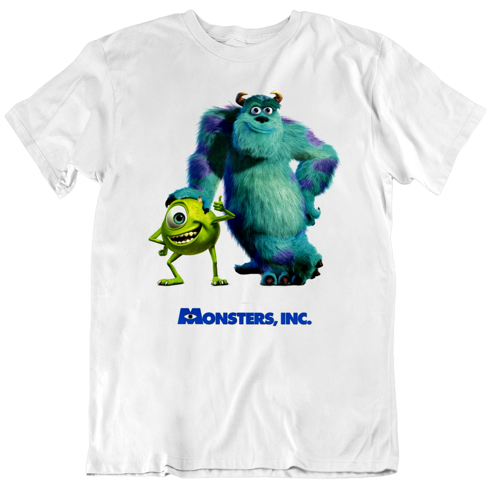 Monsters Inc Movie Fan Poster T Shirt