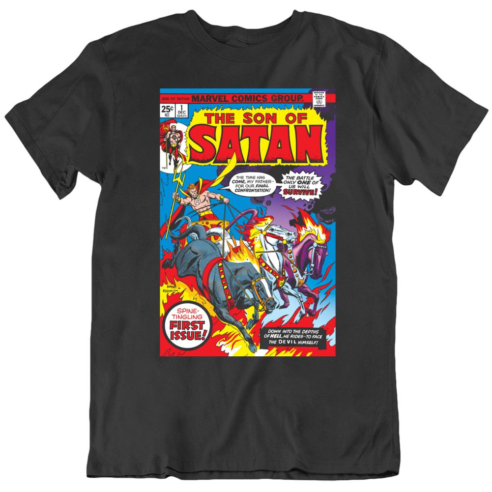 The Son Of Satan Retro Comic # 1 Fan T Shirt