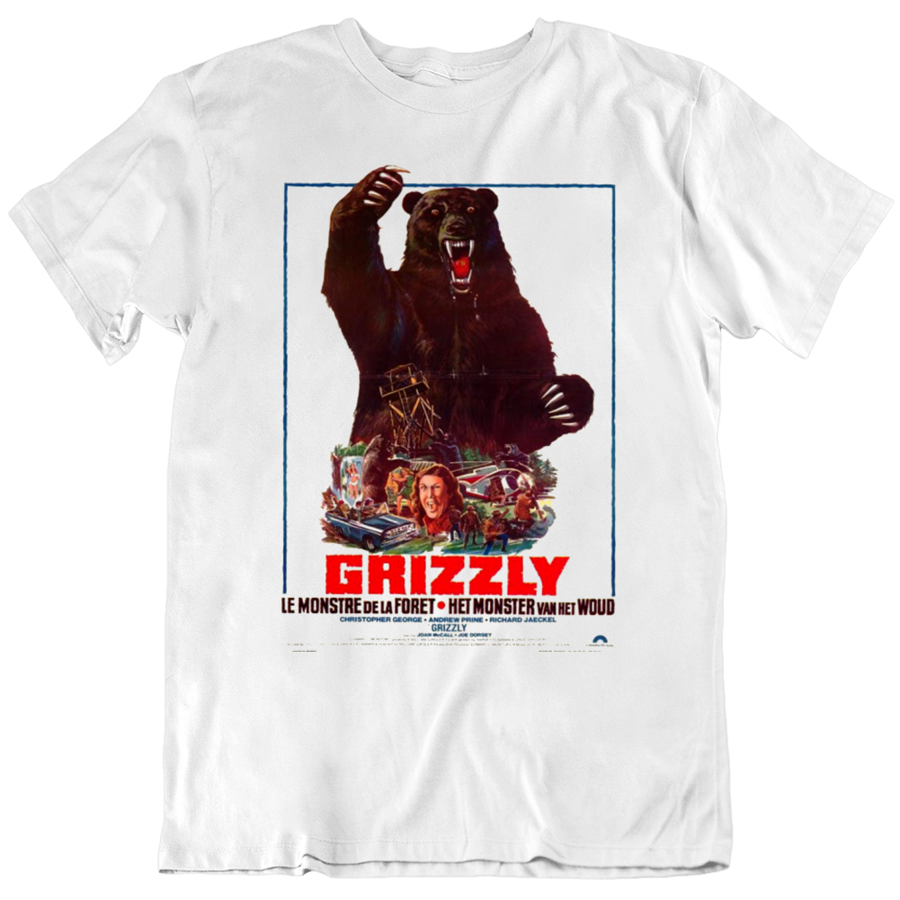 Grizzly Movie Fan Poster T Shirt