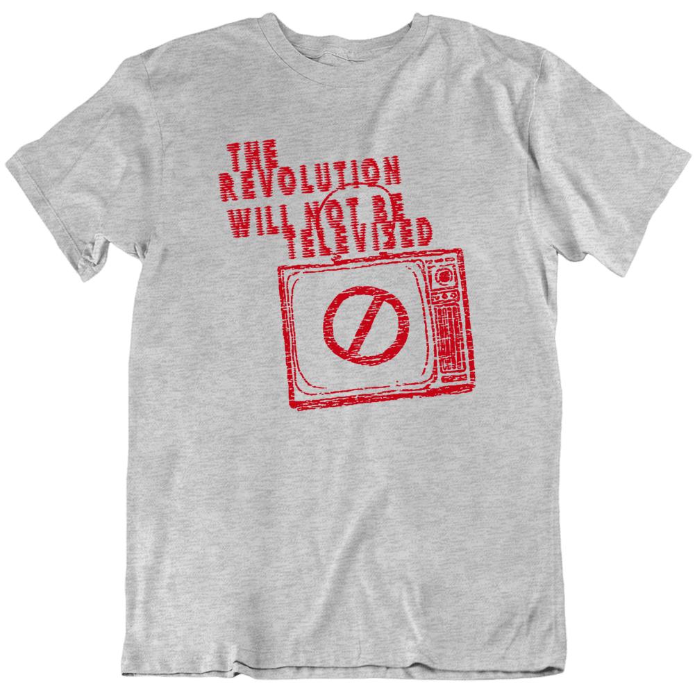 The Revolution Won't Be Televised Gil Scott Heron T Shirt